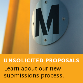 Unsolicited Proposals: Learn about our new submissions process.