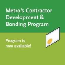 Metro's Contractor Development & Bonding Program